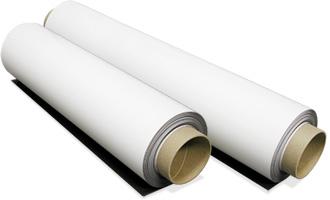 Printec® Beyaz PVC Kaplamalı Mıknatıslı Film 0,5mm