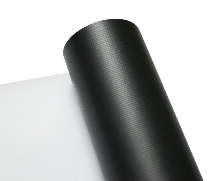 Printec® Arkası Siyah Neo Branda Mat