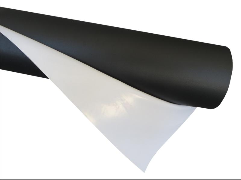 Printec® 400gsm Dökme Branda Mat Arkası Siyah