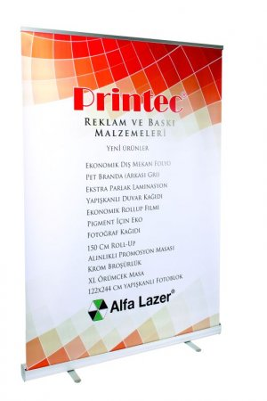 Premium Stabilizatörlü Roll-Up 150cm (Normal Çanta)