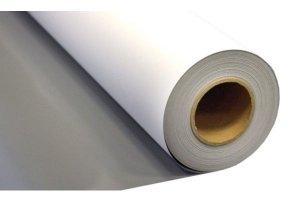 Printec® PET Kıvrılmayan Arkası Gri Mat Roll-Up Brandası